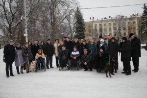 Акция «Мир один на всех» прошла в областной столице